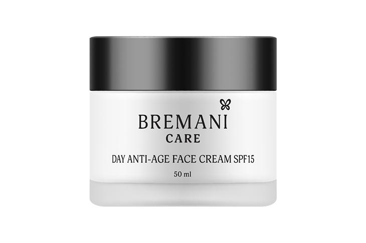 Дневной крем для лица SPF15 40+ Bremani Care