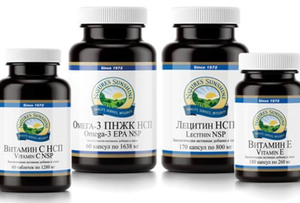 Витамины и минералы для всей семьи